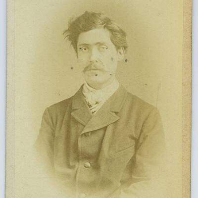 Frederik Oscar Valdemar Lang [el. Lanz?]